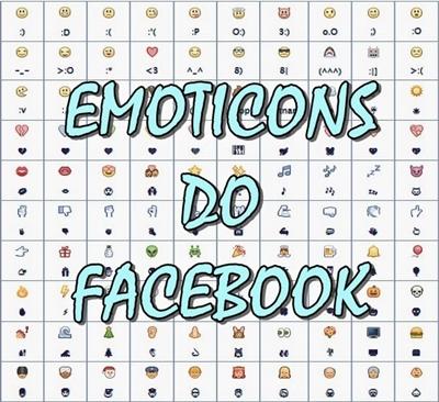 Melhores emoticons do Facebook