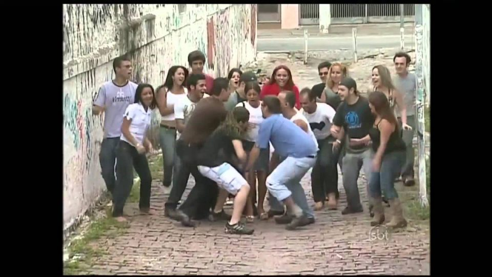 Pegadinha Silvio Santos