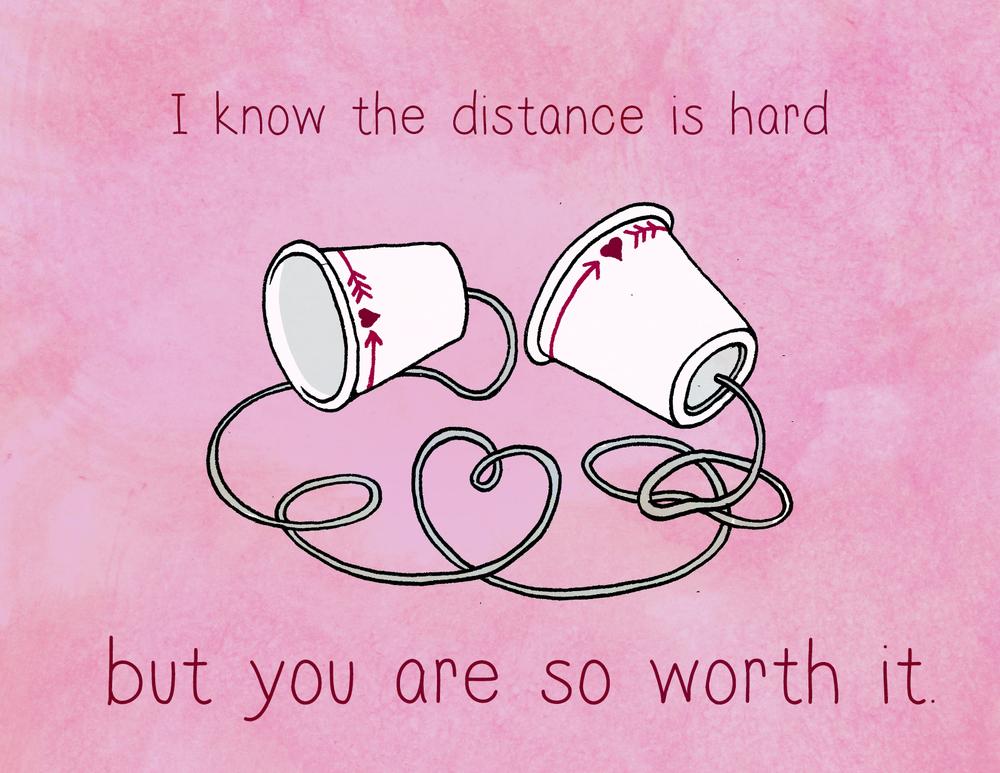 Mensagem Dia dos Namorados Distante