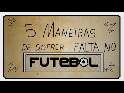 Melhores Maneiras de Sofrer Falta no Futebol