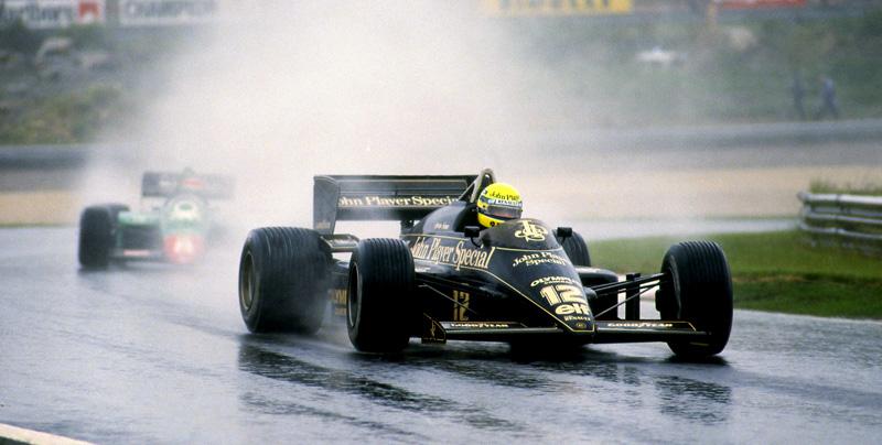 GP de Portual com Senna